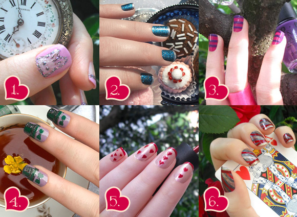 Vote your favourite nail art by non solo Kawaii