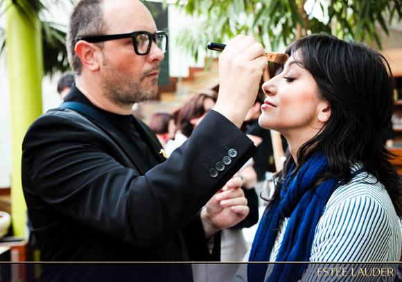 Estée Lauder makeup, melly blogger