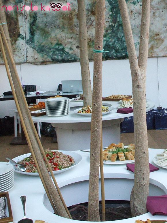 Estée Lauder event - catering