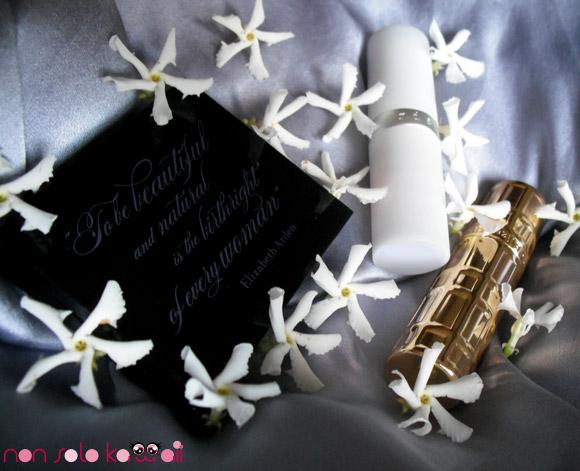 non solo Kawaii - Elizabeth Arden Ceramide Ultra Lipstick, Watermelon -  Elizabeth Arden Eight Hour Cream Lip Protectant Stick Sheer Tint SPF 15, Blush - Elizabeth Arden, Color Intrigue Eyeshadow Duo, Black Currant