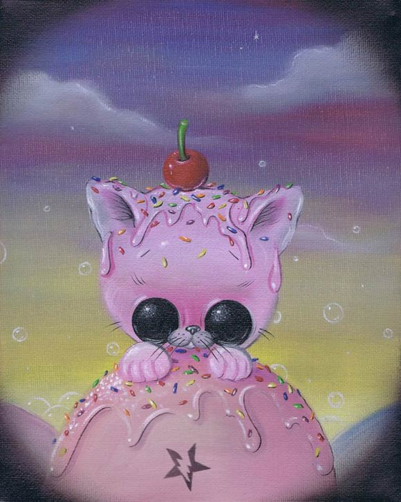 Michael Banks - Curious, Kittens & Ice Cream, gatti e gelato
