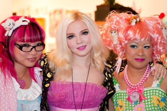Twinkie Chan, Doe Deere of Lime Crime, Maria Ewing of Locketship, Kittens & Ice Cream, gatti e gelato