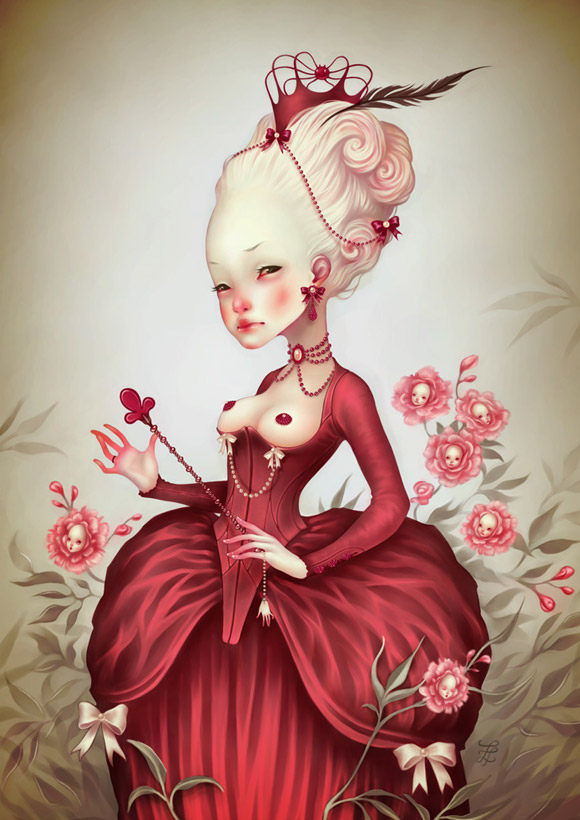 LostFish - Alice, A travers le miroir Red Queen of Heart - Alice nel Mondo attraveso lo specchio Regina di Cuori