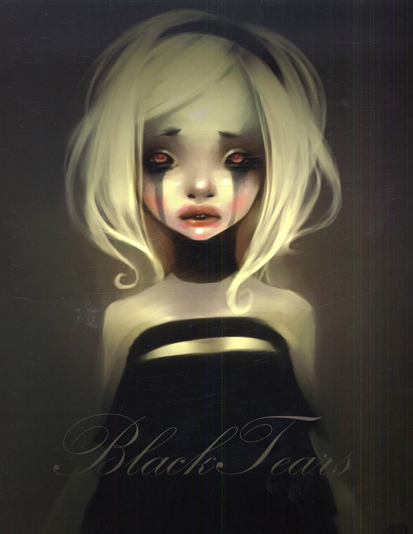 LostFish - Black Tears - gothic dark girl lolita