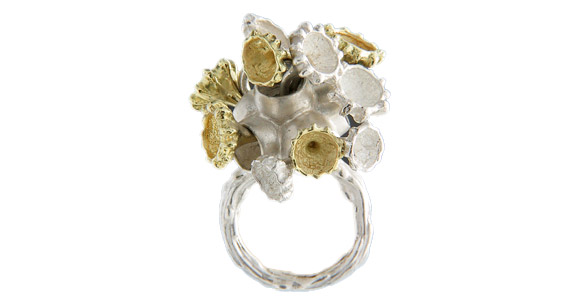 Esty - Anemone Ring, Mermaid Sirena kawaii look