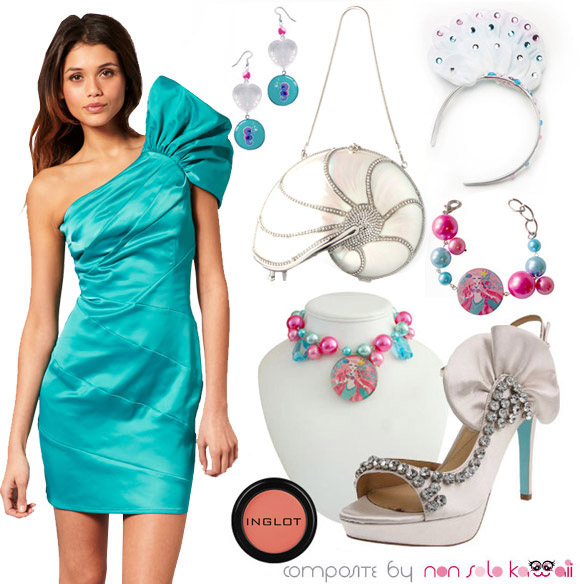 Baby Mermaid, look and outfit da sirena by non solo kawaii
