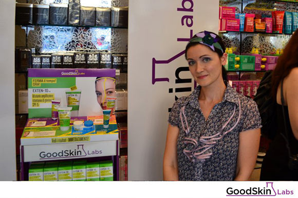 Angela Chiappa at the GoodSkin Labs Exten-10 Event Douglas Milano