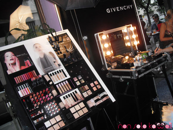 non solo Kawaii at Givenchy Make up Week Desirée