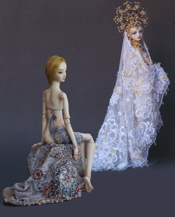 Marina Bychkova, Enchanted Doll, Peacock e Swan Princess