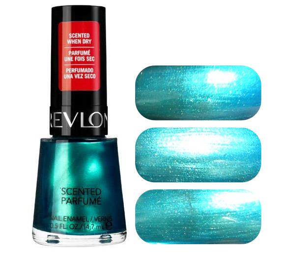 Revlon - Scented Nail Enamel, Ocean Breeze, nail polish - smalto