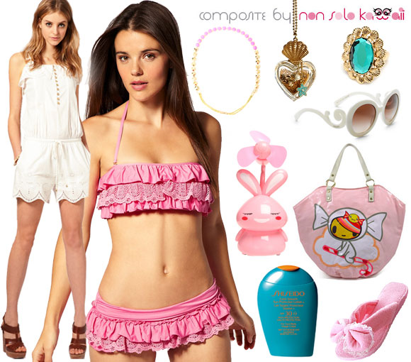 Summer Look: Summer Girl outfit per l'estate by non solo Kawaii