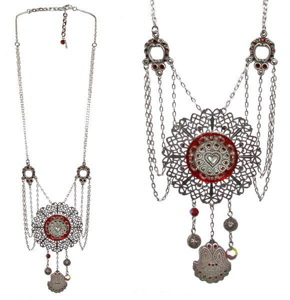 Tarina Tarantino - Topkapi Desert Star Necklace, Oasis, collana maya