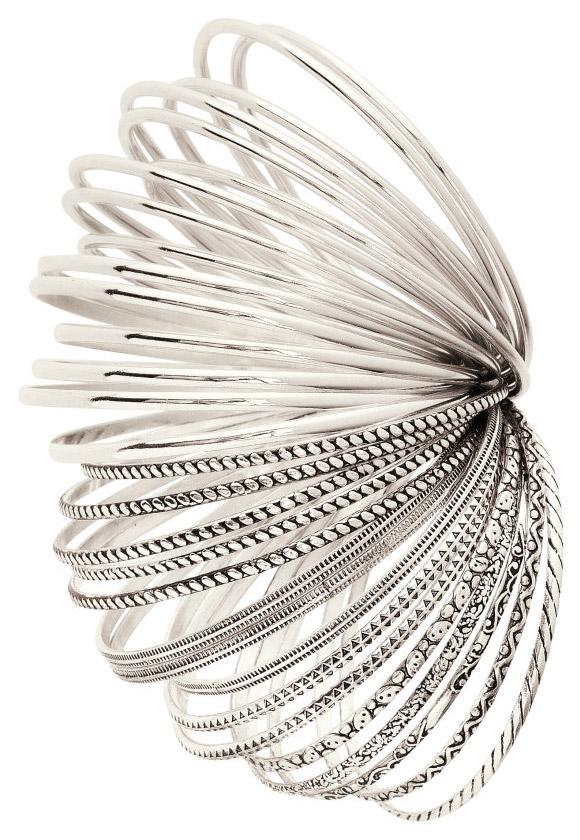 H&M - Gold Bracelets, bracciali anelli oro