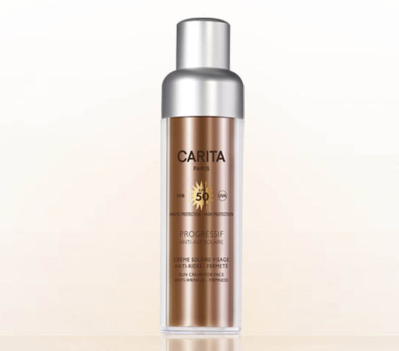 Carita - Progressif Anti-Age Solaire Sun Cream for Face Anti-Wrinkles Firmness SPF 50