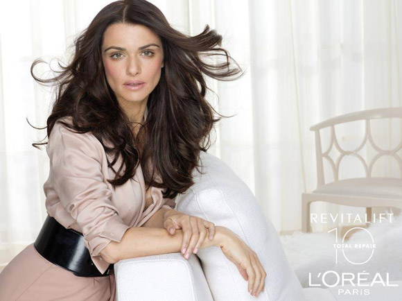 Rachel Weisz for LOral Paris
