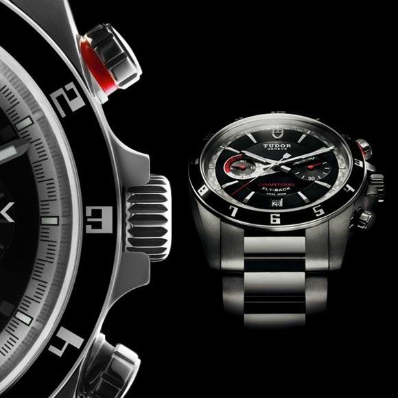 Tudor - Grantour Chrono Fly-Back, orologio acciaio