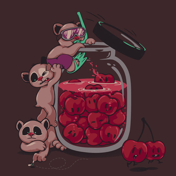 Zutto - Tee Print for LaFraise Contest