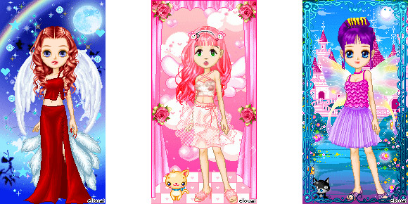 eLouai - CandyWorld Girl Doll Maker