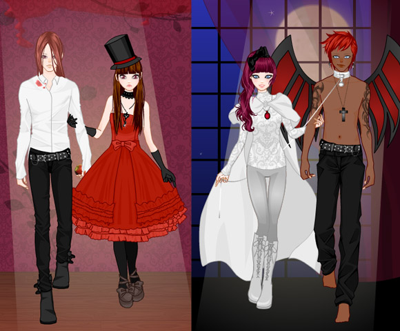Rinmaru Games - Vampire Couple Dress Up