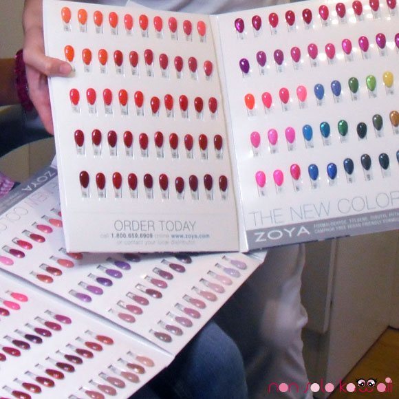 Zoya book colour