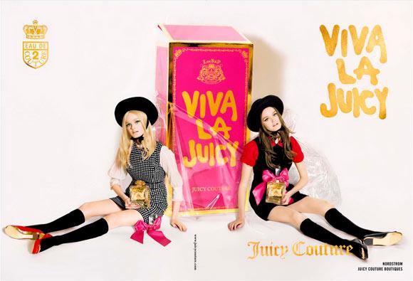 Juicy Couture Fragrance - Viva La Juicy, adv by Tim Walker, model doll Lisa Cant