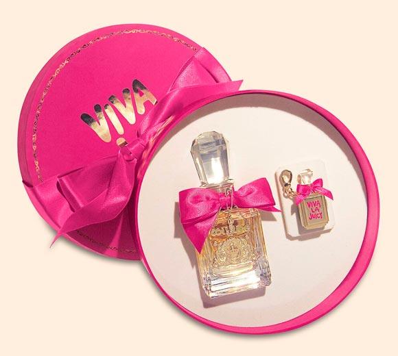 Juicy Couture Viva La Juicy Fragrance, kawaii packaging hat box set