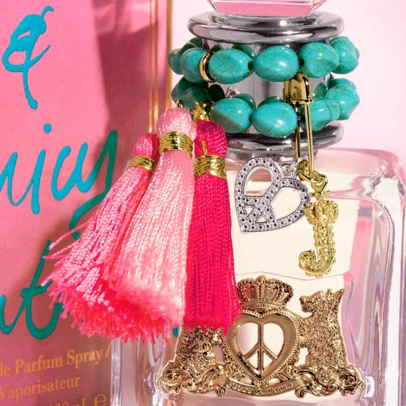 Juicy Couture Peace, Love & Juicy Couture Fragrance, kawaii packaging profumo hippy