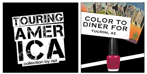 OPI, Touring America, Color to Diner For