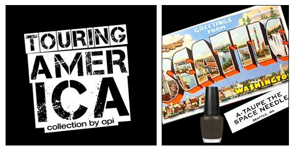 OPI, Touring America, A-taupe the Space Needle