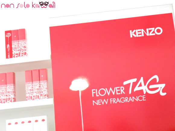Flower TAG packaging by Kenzo