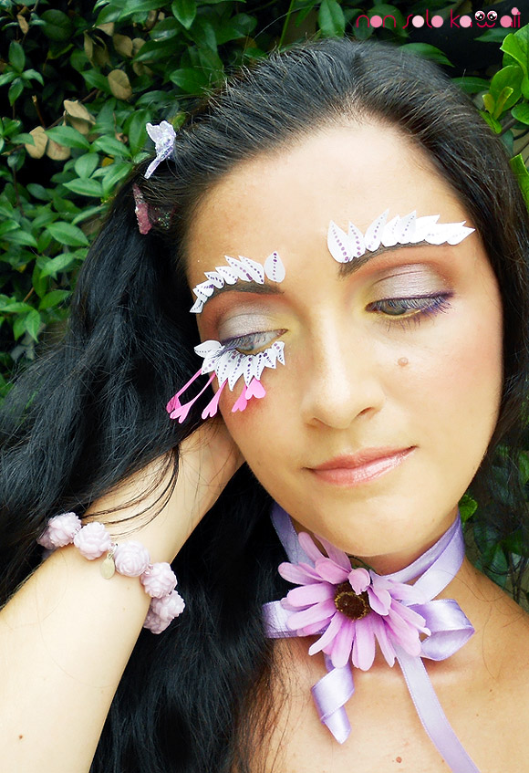 End of Summer Bud by non solo Kawaii, Make-up Flower Power by Neve Cosmetics