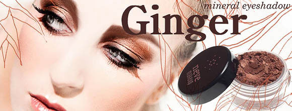 Neve Cosmetics - Flower Power, Ginger