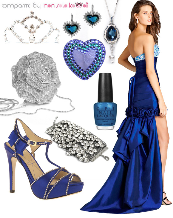 Miss Universe Look: Miss Blue Sapphire outfit by non solo Kawaii