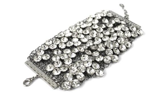nOir Jewelry - Galaxy Bracelet, braccialetto con cristalli