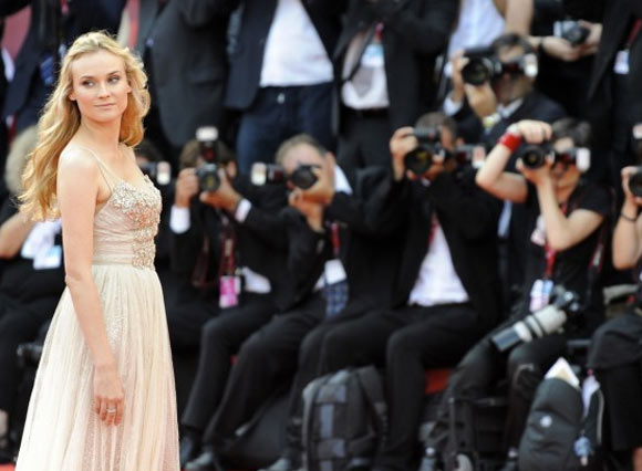 Diane Kruger alla 68 Mostra Internazionale d'Arte Cinematografica di Venezia