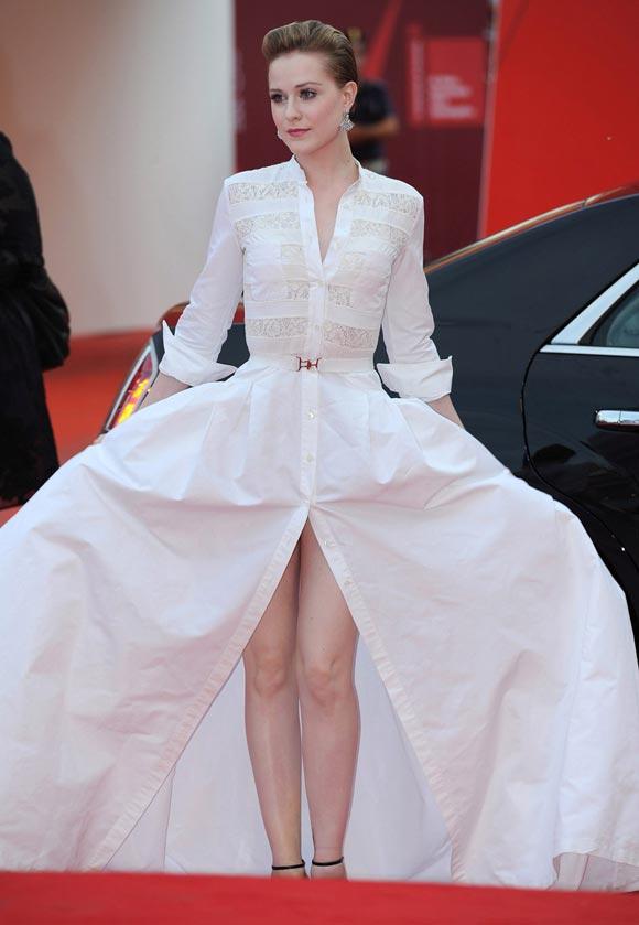 Evan Rachel Wood alla 68° Mostra Internazionale d'Arte Cinematografica di Venezia