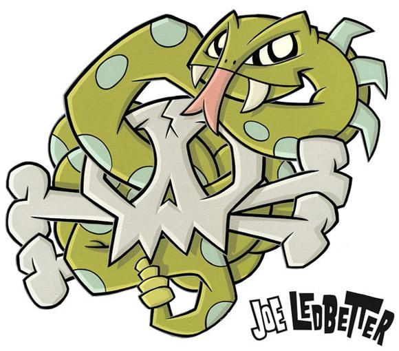 Joe Ledbetter for Quick & Painful Exhibition