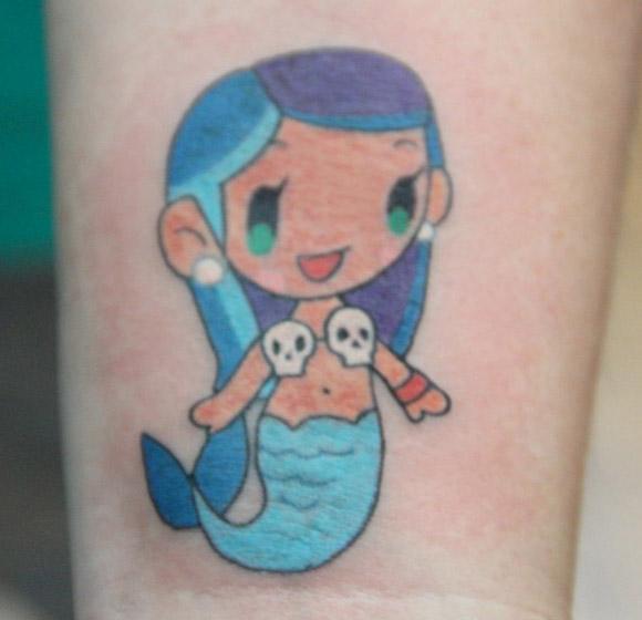 Tokidoki Tattoo - Quick & Painful Exhibition - Photo courtesy of Hope Gallery Tattoo