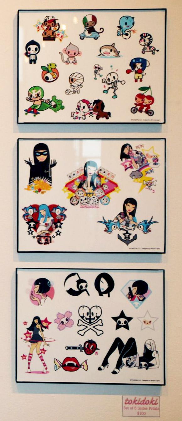 Simone Legno Tokidoki - Quick & Painful Exhibition