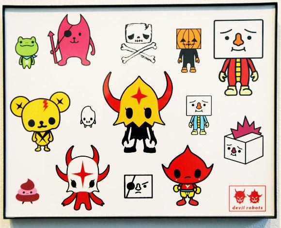 Devil Robots - Quick & Painful Exhibition