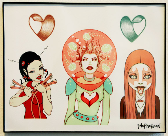 Tara McPherson - Quick & Painful Exhibition