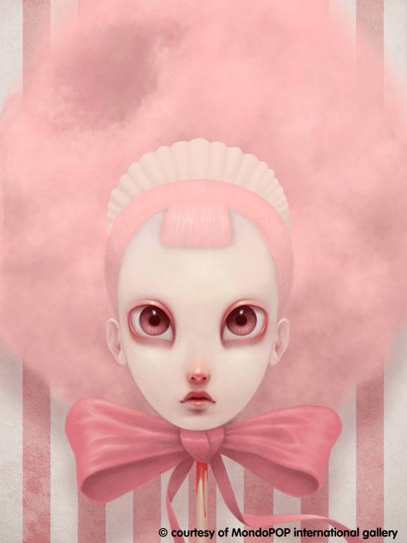 Paolo Pedroni - Cottoncandy, kawaii pink girl