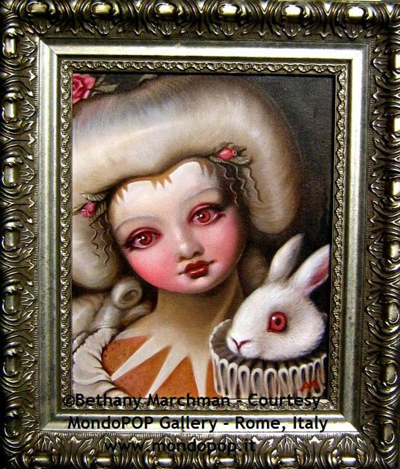 Bethany Marchman - Eostre, white baroque girl