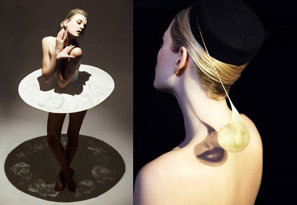 Maiko Takeda, Cinematography Collection, Ballerina Dress and Lip hat