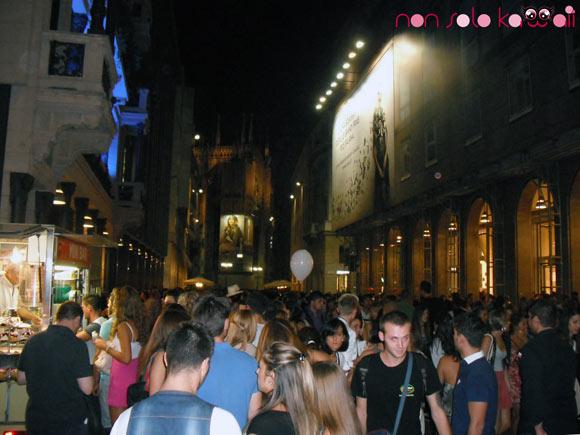 Corso Vittorio Emanuele, Vogue Fashion's Night Out Milano 2011