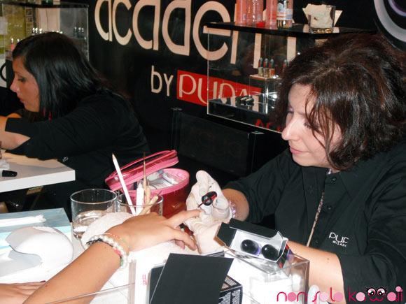 Pupa at Vogue Fashion's Night Out Milano 2011
