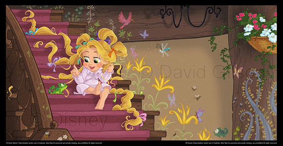 David Gilson - Rapunzel (Tangled), Toddler Book