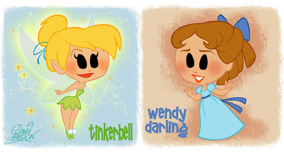 David Gilson - Trilly and Wendy / Tinkerbell e Wendy