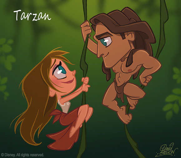 David Gilson - Tarzan and Jane