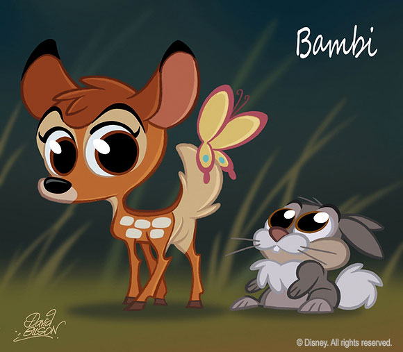 David Gilson - Bambi and Thumper / Bambi e Tippete